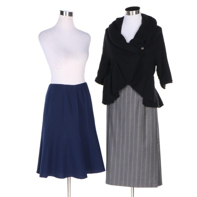 Escada, Lafayette 148 New York and Autumn Cashmere Sweater Jacket and Skirts