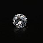Loose 0.40 CT Diamond Gemstone Including GIA Dossier