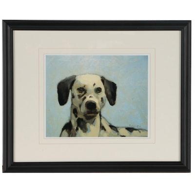 Digital Print of Dog Portrait