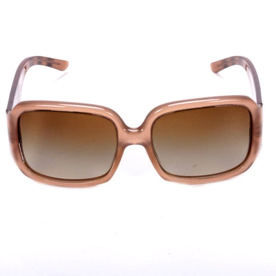 "Burberry B 4072 Gradient Beige ""Nova Check"" Sunglasses"