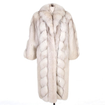 Saga Fox Fur Full-Length Coat by Eastern Furriers