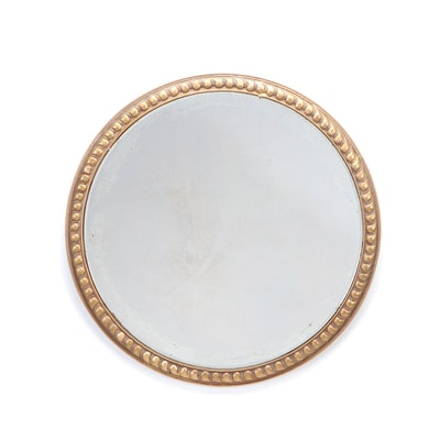 Giltwood Beveled Edge Wall Mirror