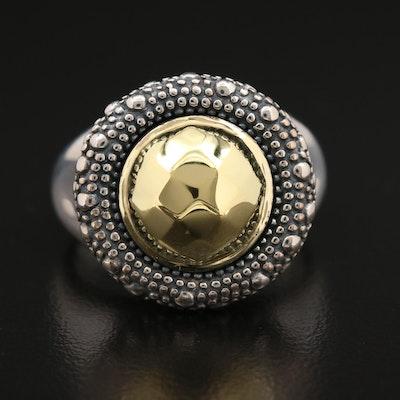 Michael Dawkins Sterling Silver Ring
