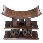 Louis XVI Style Stained Wood Bench, Mid to Late 20th Century