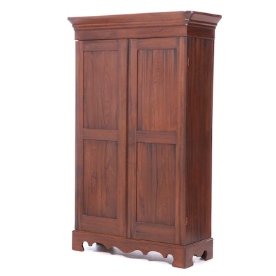 Walnut Knock-Down Wardrobe, Mid-19th Century