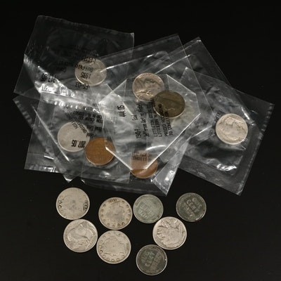 Collection of Vintage and Antique US Coins