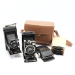 Zeiss Derval and Compur Folding Cameras