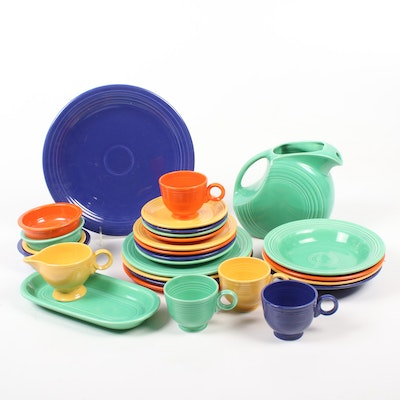 "Homer Laughlin ""Fiesta"" Dinnerware, Mid to Late 20th Century"