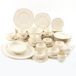 """Lenox """"Mansfield"""" Porcelain Dinnerware, Mid to Late 20th Century"""