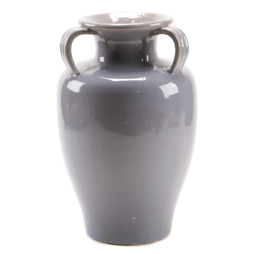 Large Ceramic Amphora Vase, Mid to Late 20th Century