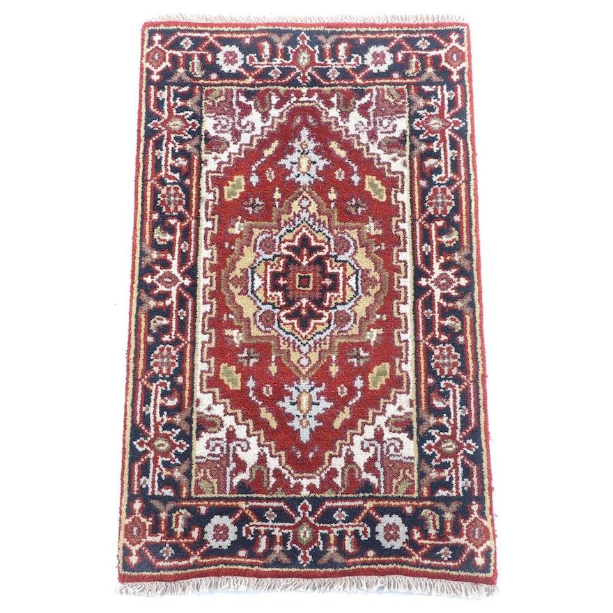 2'1 x 3'8 Hand-Knotted Persian Bijar Wool Rug