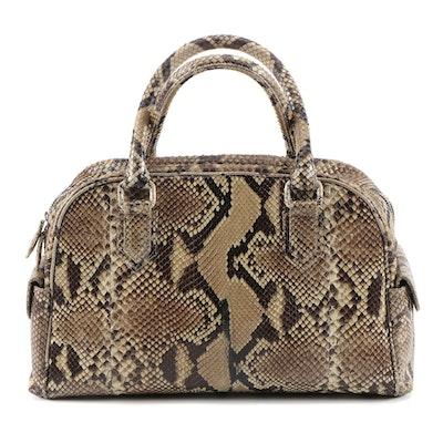 Eileen Kramer Python Skin Handbag