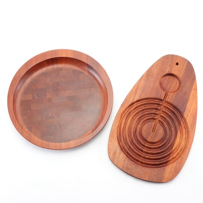 Dansk Danish Modern Walnut Cutting Boards by Jens Quistgaard