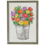 Ann Applegate Katz Floral Watercolor Painting, late 20th early 21 Century