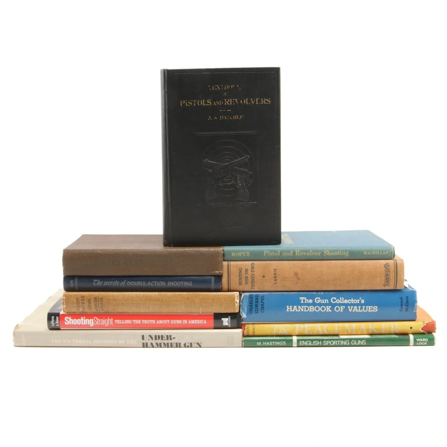 """First Edition """"The Pictorial History of the Underhammer Gun"""" with More Books"""