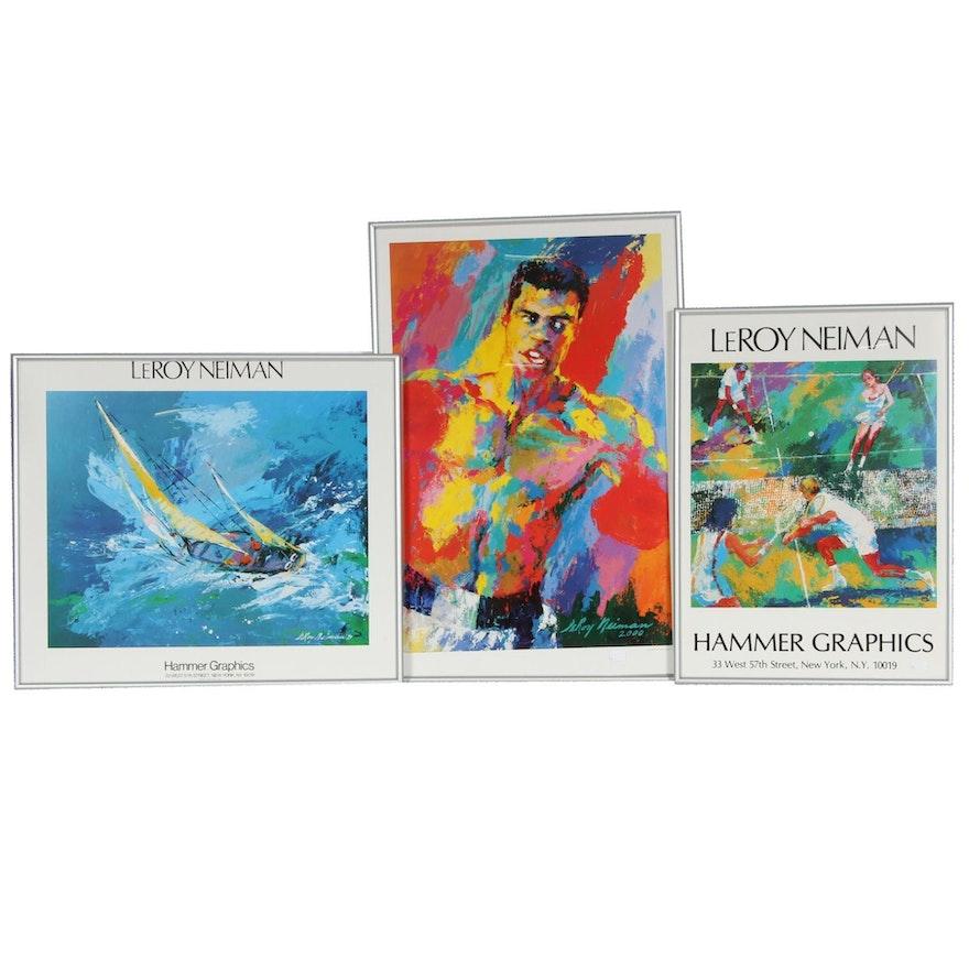 Offset Lithograph Posters After Leroy Neiman