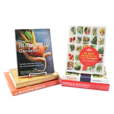 "Gardening and Cookbooks featuring ""The Heirloom Life Gardener"" and Others"