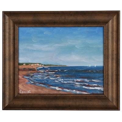 Sean Wu Seascape Oil Painting