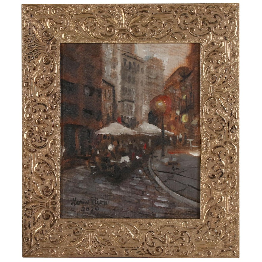 """Kevin Picou Oil Painting """"Collectible"""""""