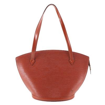 Louis Vuitton Saint Jacques Shoulder Bag in Cipango Gold Epi Leather