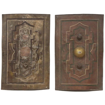 Decorative Brass and Copper Shields