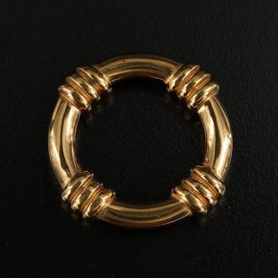 Hermés Scarf Ring