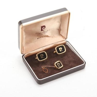 Pierre Cardin Gold Tone Cufflinks, Vintage