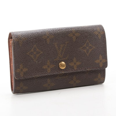 Louis Vuitton Sarah Wallet in Monogram Canvas