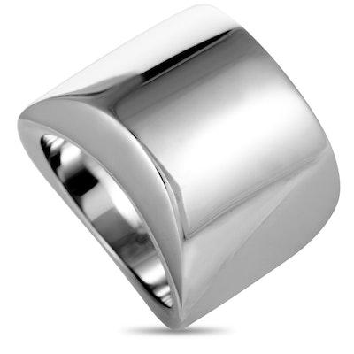 Calvin Klein Sensory Stainless Steel Wide Ring