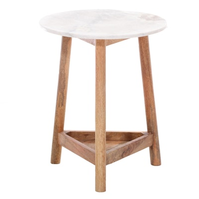 Threshold Contemporary Marble Top Accent Table for Target