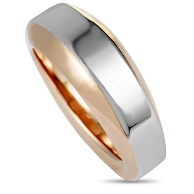 Calvin Klein Steep Rose PVD-Plated Stainless Steel Ring
