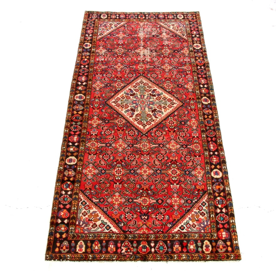 5'2 x 10'7 Hand-Knotted Persian Tabriz Rug