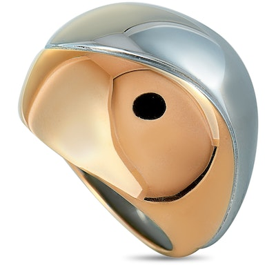 Calvin Klein Empathic Pink PVD Stainless Steel Ring