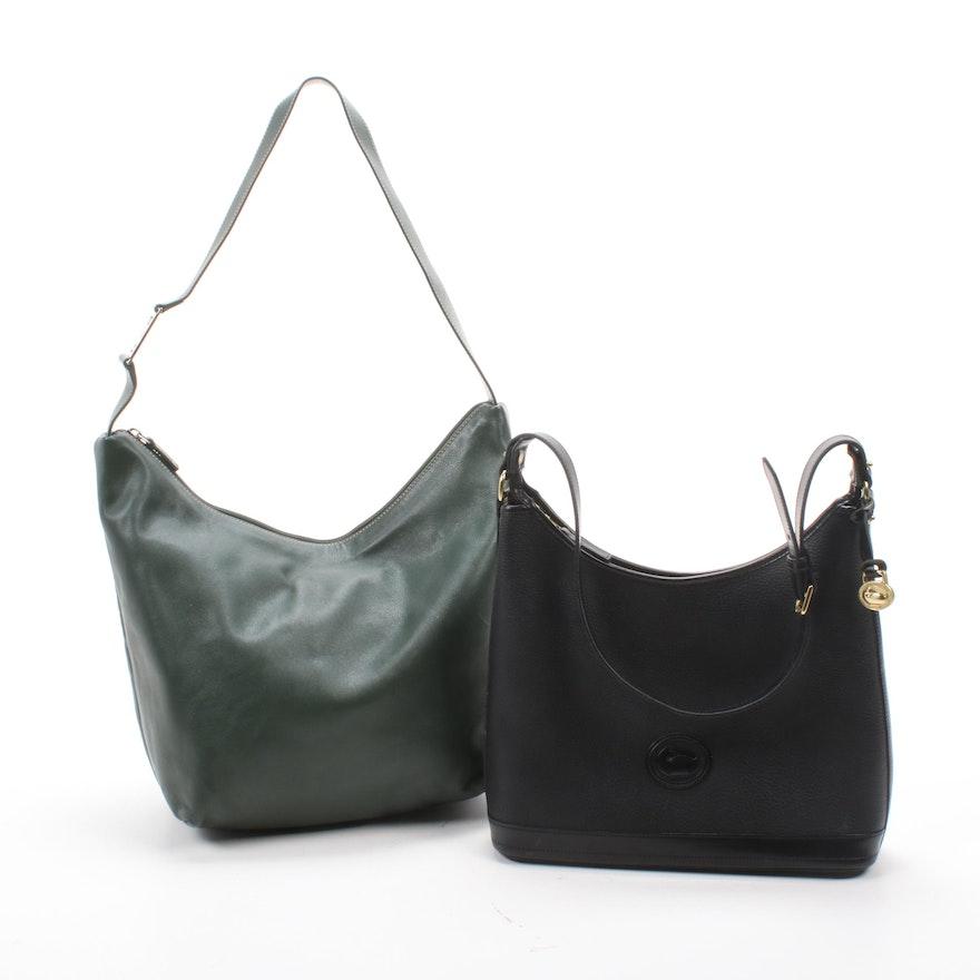 Dooney & Bourke All-Weather and LAUREN Ralph Lauren Leather Shoulder Bags