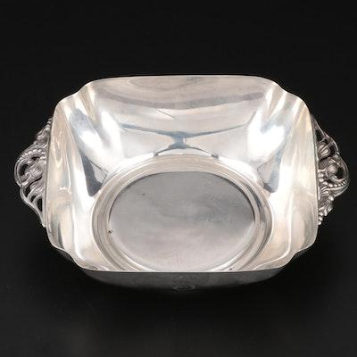 Reed & Barton Handled Sterling Silver Bonbon Bowl, 1949
