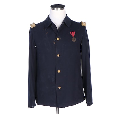 Indian Wars Era U.S. Army Officer's Sack Coat with Indian Campaign Medal