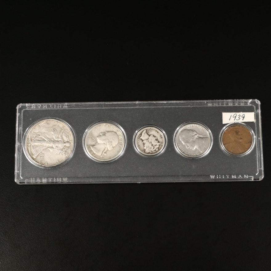 1939 Coin Type Set