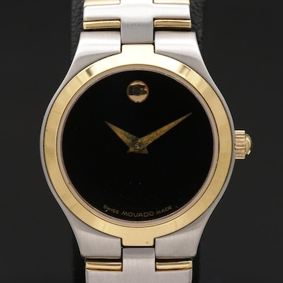 Movado Museum Piece Stainless Steel Quartz Wristwatch
