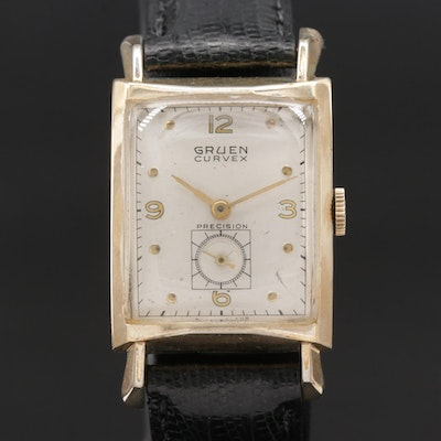 1952 Gruen Curvex 10K Gold Filled Wristwatch