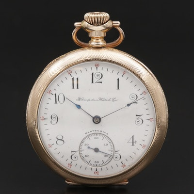 1902 Hampden Watch Co. Gold Filled Pocket Watch