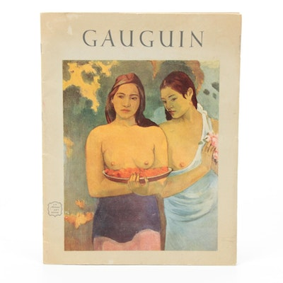"""Paul Gauguin"" Portfolio Edition by John Rewald, 1952"