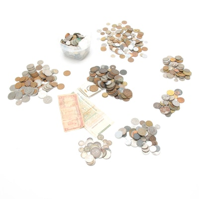 Silver and Other Foreign Coin Collection