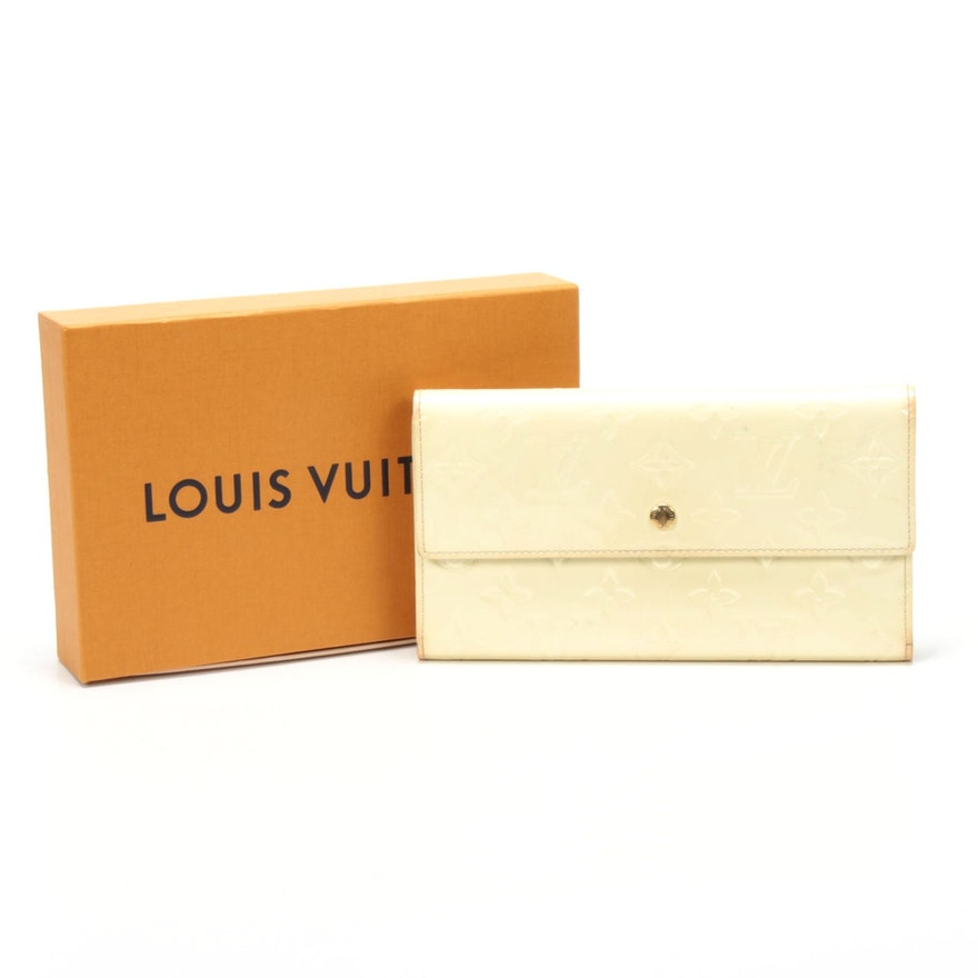 Louis Vuitton Porte Tresor International Wallet in Monogram Vernis