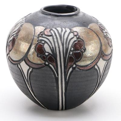 Art Nouveau Style Studio Pottery Vase