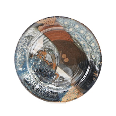 Studio Pottery Charger Plate