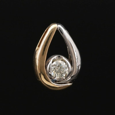 Sirena 14K Gold 0.18 CT Diamond Pendant