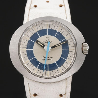 Omega Dynamic Stainless Steel Wristwatch