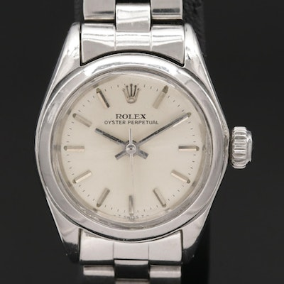 Rolex Oyster Perpetual Stainless Steel Automatic Wristwatch, Vintage