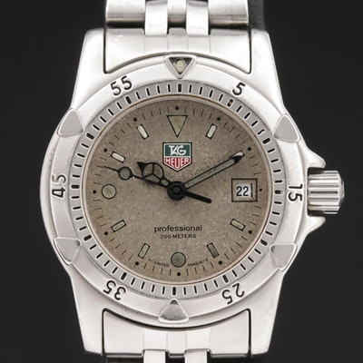 TAG Heuer 1500 Stainless Steel Quartz Wristwatch