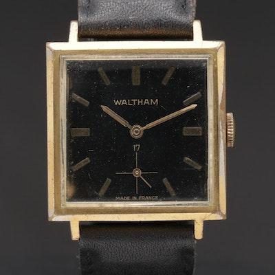 Waltham French Made Stem Wind Wristwatch